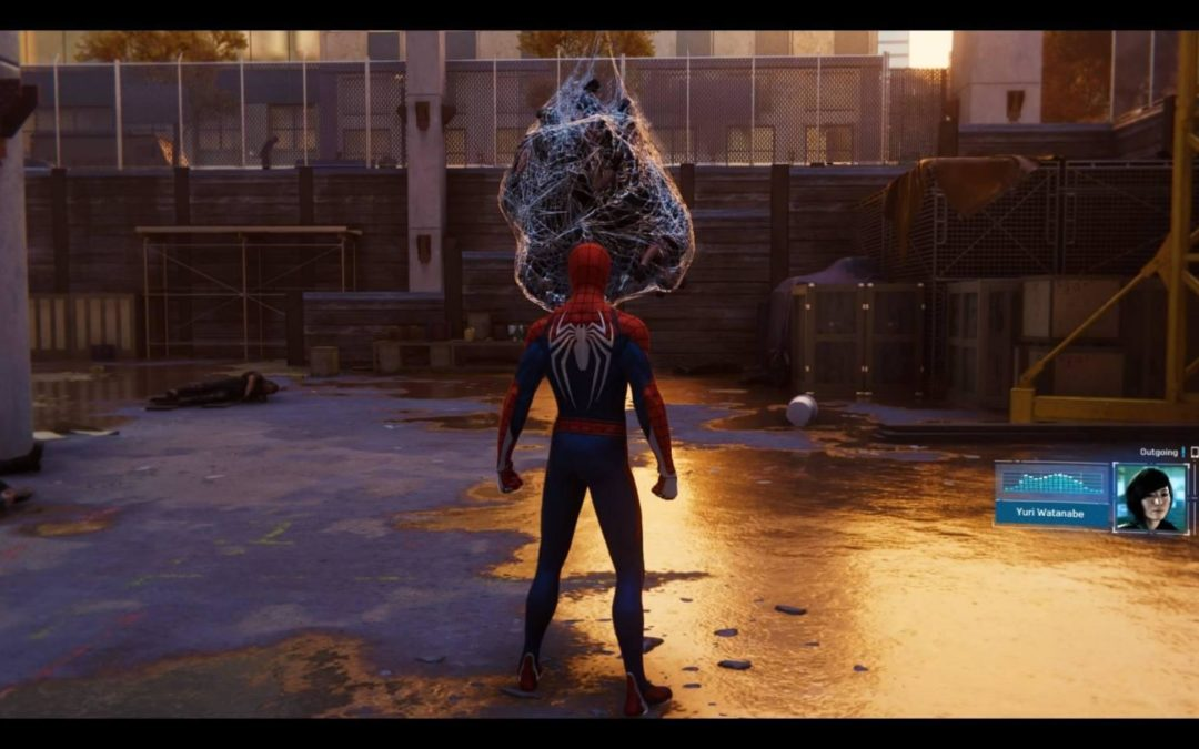 Spider-Man, le vent dans les toiles