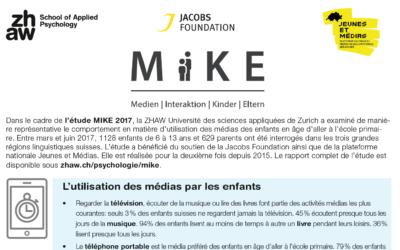 Enquête MIKE 2017