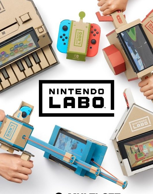 Nintendo Labo passé au crible par des enfants (et des adultes)
