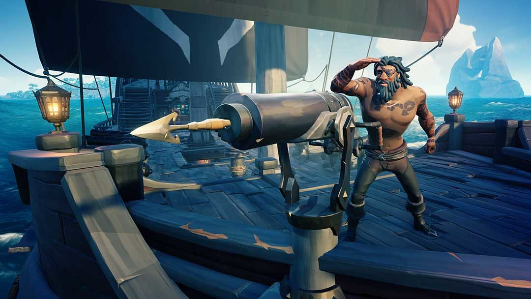 Sea of Thieves, le trésor de Rare-ckham le rouge